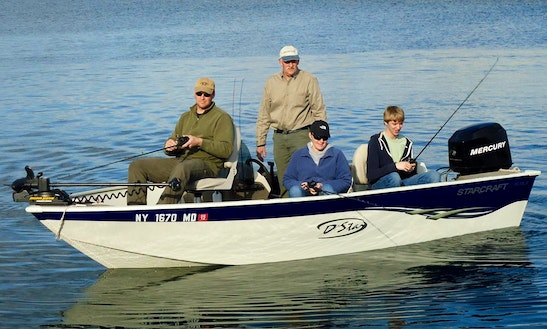 Full And Half Day Fishing Charter In Massena, New York