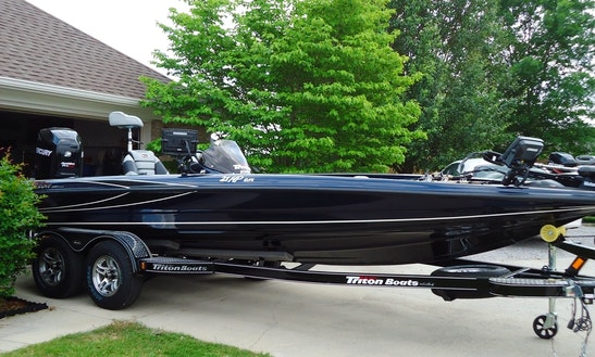 21' Triton Elite Series On Lake Guntersville, Al
