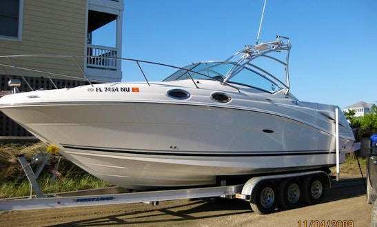 27' Sea Ray Fishing Charter In Ontario