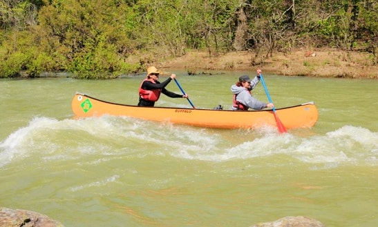 Canoe Rental In Ozark, Arkansas