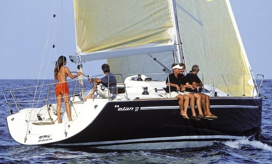 Elan 37 Cruising Monohull Rental In Saint-mandrier-sur-mer, France