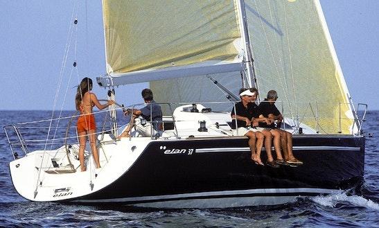 Elan 37 Cruising Monohull Rental In Saint-mandrier-sur-mer, France