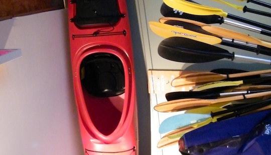 Kayak Rental At Saranac Lake, Ny