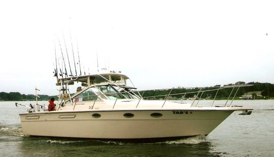 31' Tiara Sport Fishing Boat In Grand Haven