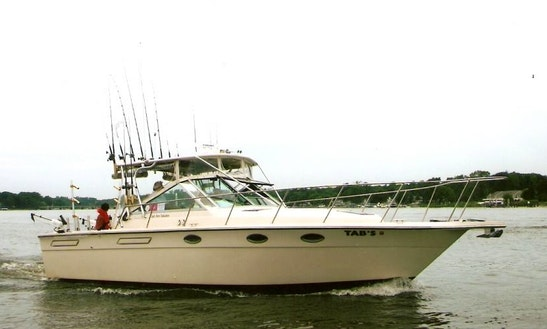 31' Tiara Sport Fishing Boat In Grand Haven