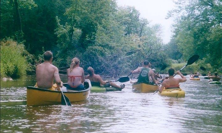 Canoe Rental at Pere Marquette River, Michigan