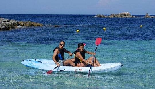 Double Canoe For Rent In Es Pujols