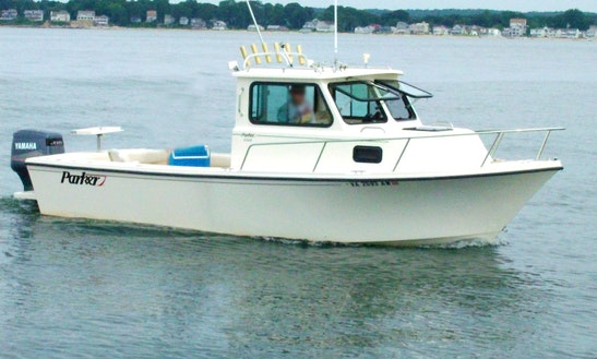25' Parker Pilot House Fishing Boat In Queens