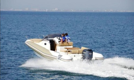 Sea Hawk Rib Boat For Rent In L'escala