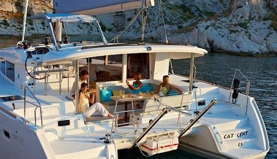 Charter 39' Lagoon 410 Catamaran In Mallorca
