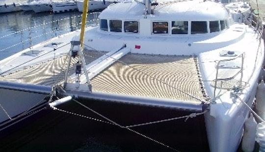 Charter 40' Lagoon 410 S2 Yacht In Mallorca