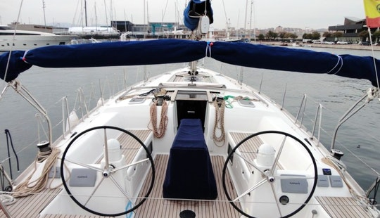 Charter Dufour 445  Sailing Yacht In Mallorca