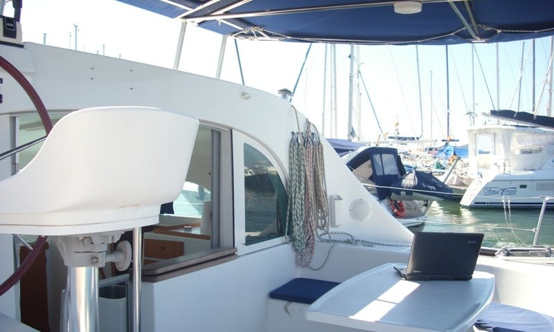 37' Lagoon 380 Yacht Charter In Mallorca
