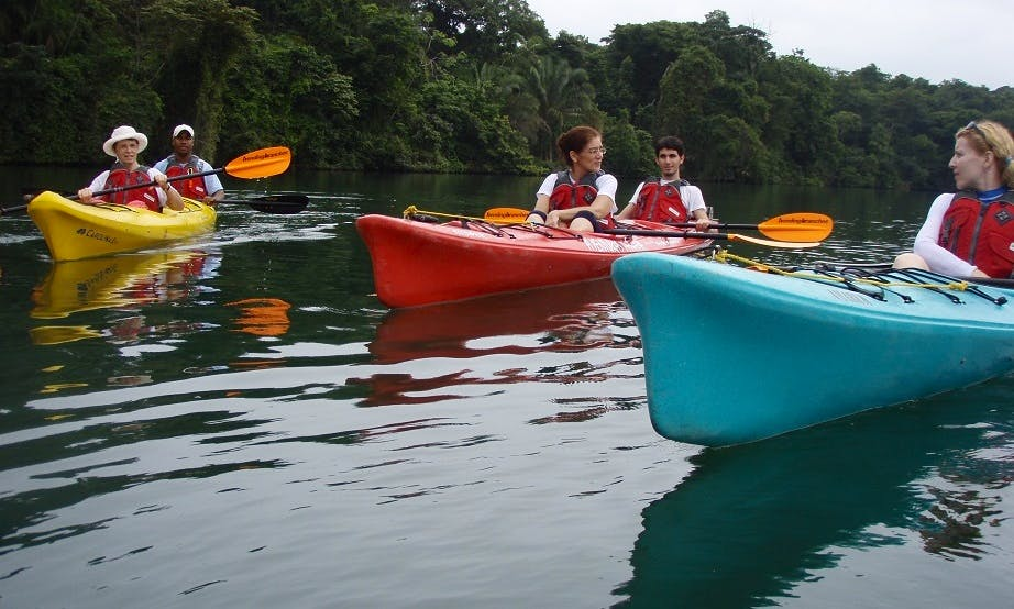 Chagres River in Expedition Kayaks in Panama