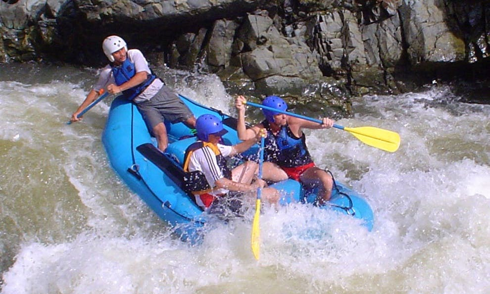Chagres Challenge Rafting in Panama
