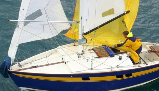 21ft Aubin Muscadet Daysailer Rental In Baden, France