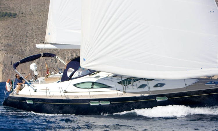 Sailing Charter on Jeanneau Sun Boat in Altea