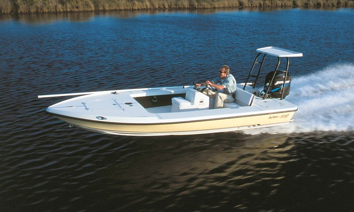 17' Action Craft Boat & Guided Trips In Goose Creek