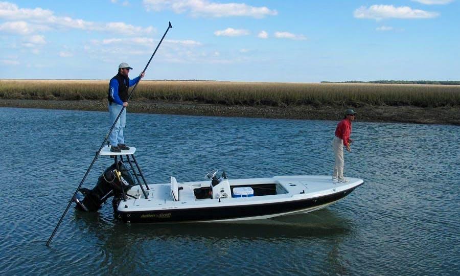 "17ft ""Action Craft"" Hybrid Flats Fishing Boat in Isle of Palms, South Carolina"