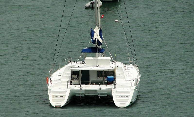 "Enjoy Key West, Florida On 44ft ""Sunluver"" Cruising Catamaran"