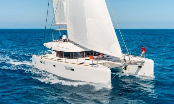 "Luxury Catamaran ""Lagoon 52"" in Zagreb"