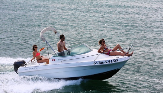 Jeannau Leader 515 Rental In Roses, Costa Brava