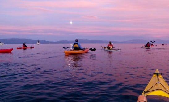 Single Kayak Rental & Lessons In Tahoe City