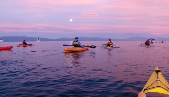 Single Kayak Rental & Lessons In Tahoe City
