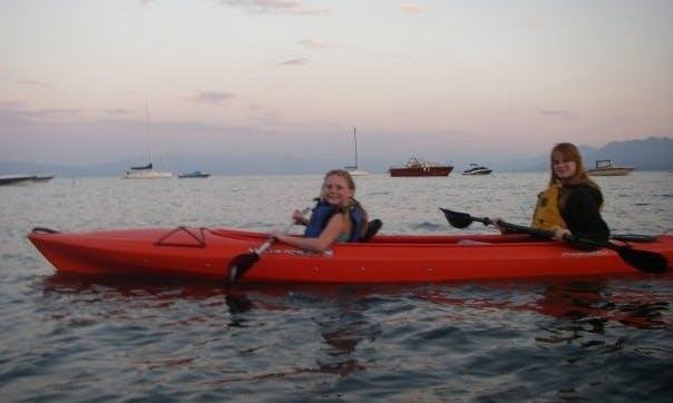 Tandem Kayak Rental In Tahoe City Getmyboat