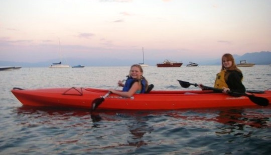 Tandem Kayak Rental In Tahoe City