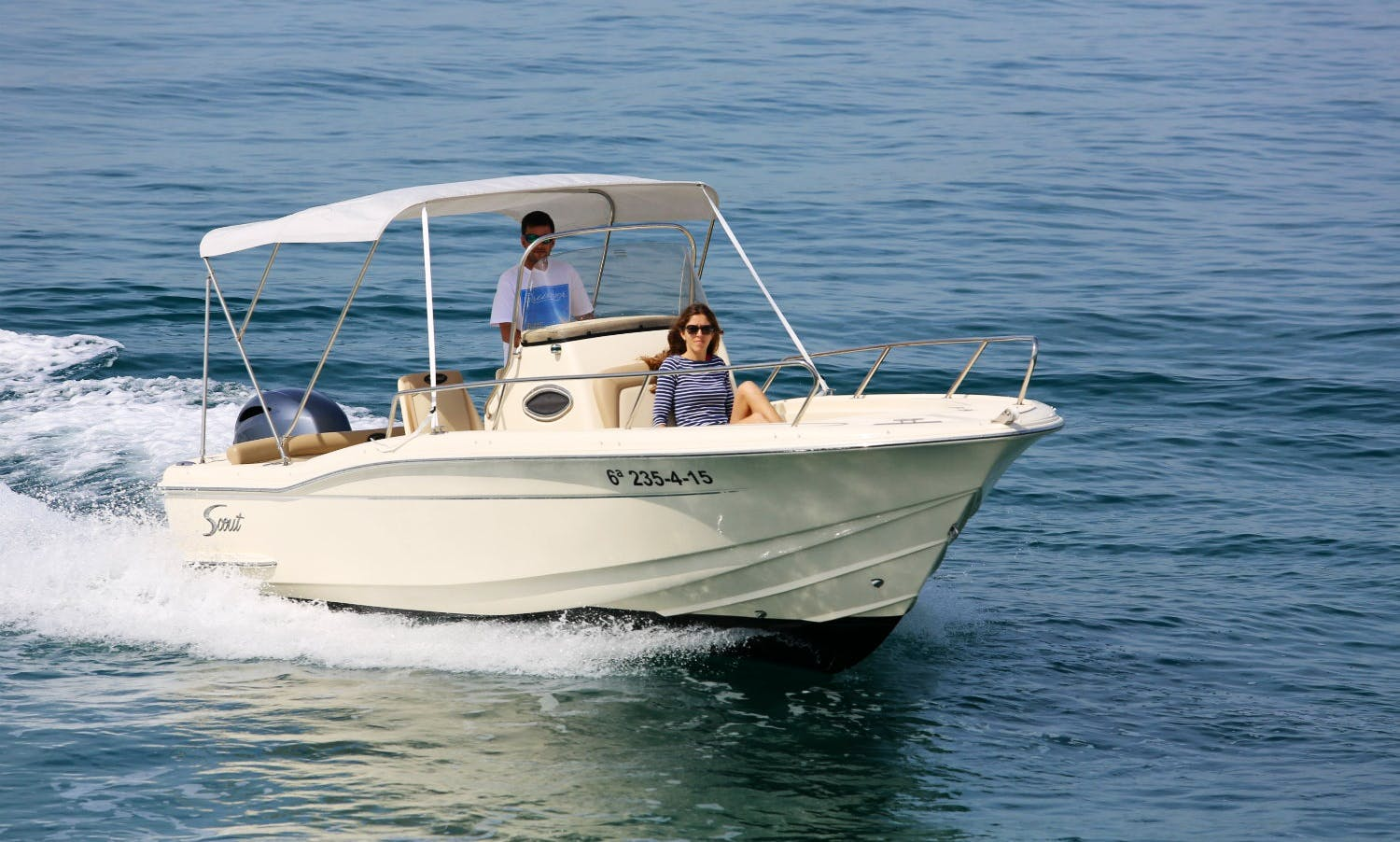 SCOUT 222 SPORTFISH Charter in Roses