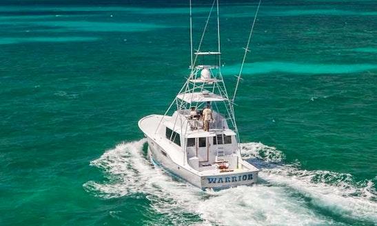 53' Hatteras Sport Fisher Yacht In Islamadora