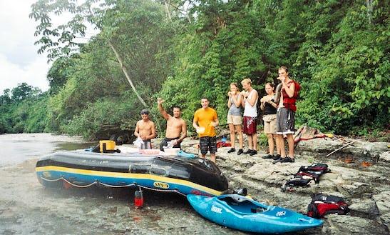 Chiriqui Viejo River Kayak Rafting In Panama
