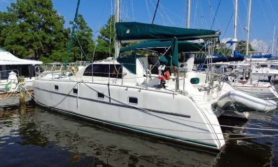 35' Victory Catamaran In Galesville, Maryland United States