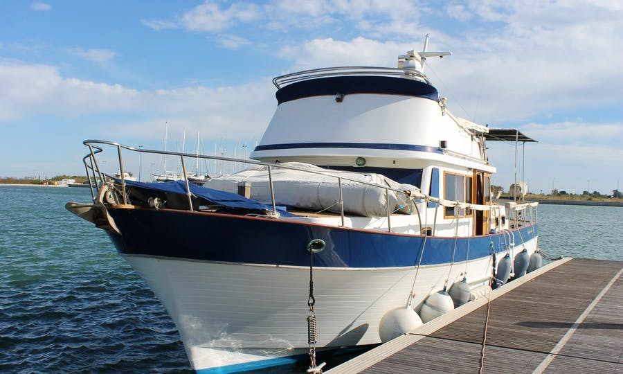 Trawler Yacht Rental in Sant Carles de la Ràpita, Spain