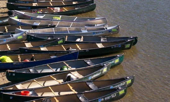 Rent Canoes In Middle Raccoon River, Ia