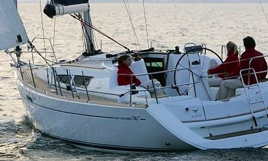 Cruising Monohull Sun Odyssey 36i Charter In Nieuwpoort, Belgium