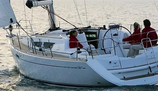 Cruising Monohull ''sun Odyssey 36i'' Charter In Nieuwpoort