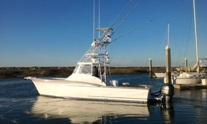 34' Carolina Fisharound Express Yacht  In Mt Pleasant