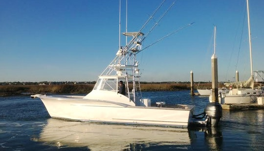 34' Carolina Fisharound Express Yacht  In Mt Pleasant