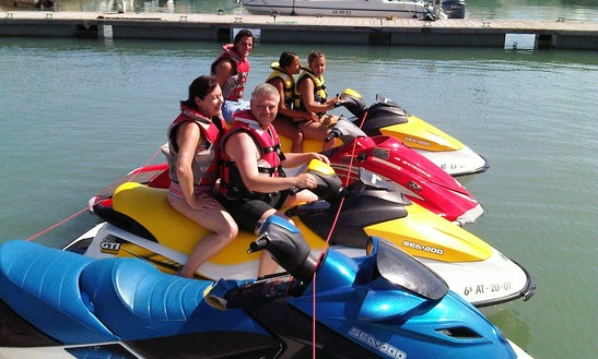 Rent A Sea-doo Personal Watercraft In Calp