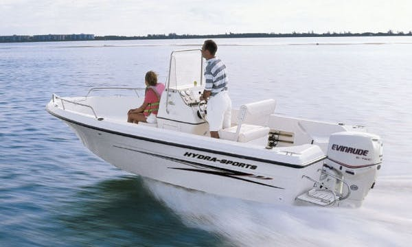 """Enjoy Fishing On 20ft """"Barking Dog"""" Center Console In Groton, Connecticut"""