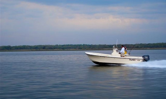 Enjoy Fishing On 23' Parker Center Console In Patchogue, New York