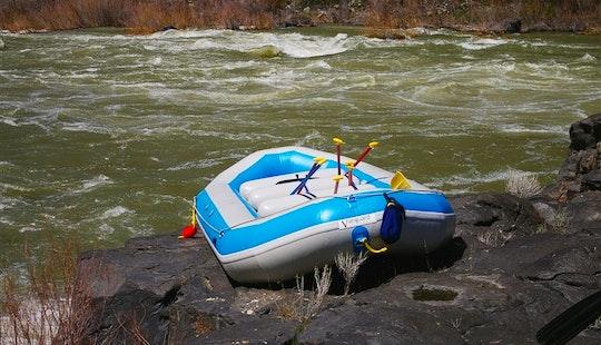 Large Self Bailing Raft Rental In Blue Lake
