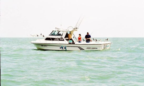 30' Sport Craft Fishing Charter In Port Clinton