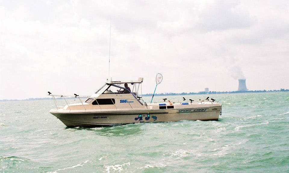 38' Excursion Boat In Port Clinton