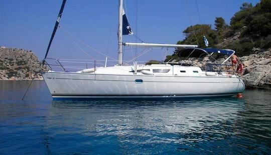 Cruising Monohull Luxurious ''sun Odyssey 37'' Charter In Nieuwpoort