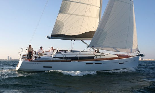 Luxury Cruiser ''sun Odyssey 409'' Charter In Nieuwpoort