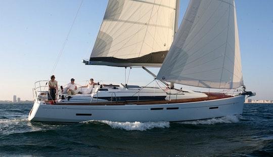 Luxury Cruiser ''sun Odyssey 409'' Charter In Nieuwpoort