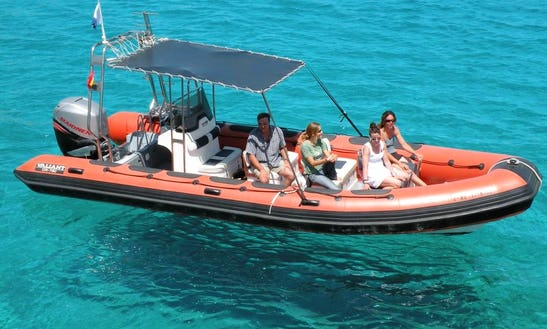 Rugged Inflatable Boat Tour In Menorca